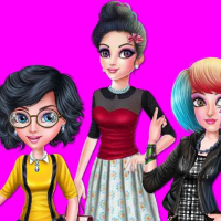 College Girl Squad Fashion Dressup