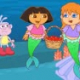 Dora and Mermaid Birthday