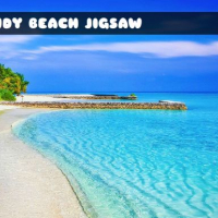 Sandy Beach Jigsaw