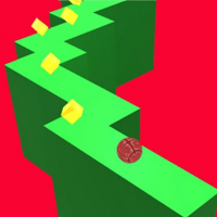 Wall Ball ZigZag Game 3D