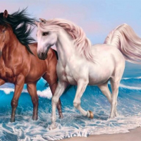 Animals Jigsaw Puzzle - Horses