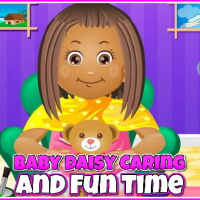 Baby Daisy Caring and Fun Time