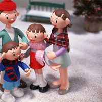Christmas Clay Doll Puzzle