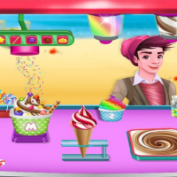 Ice Cream Maker - Make Sweet Frozen Desserts