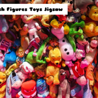 Plush Figures Toys Jigsaw