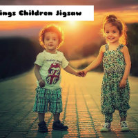 Siblings Children Jigsaw