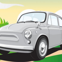 Vintage German Cars Jigsaw